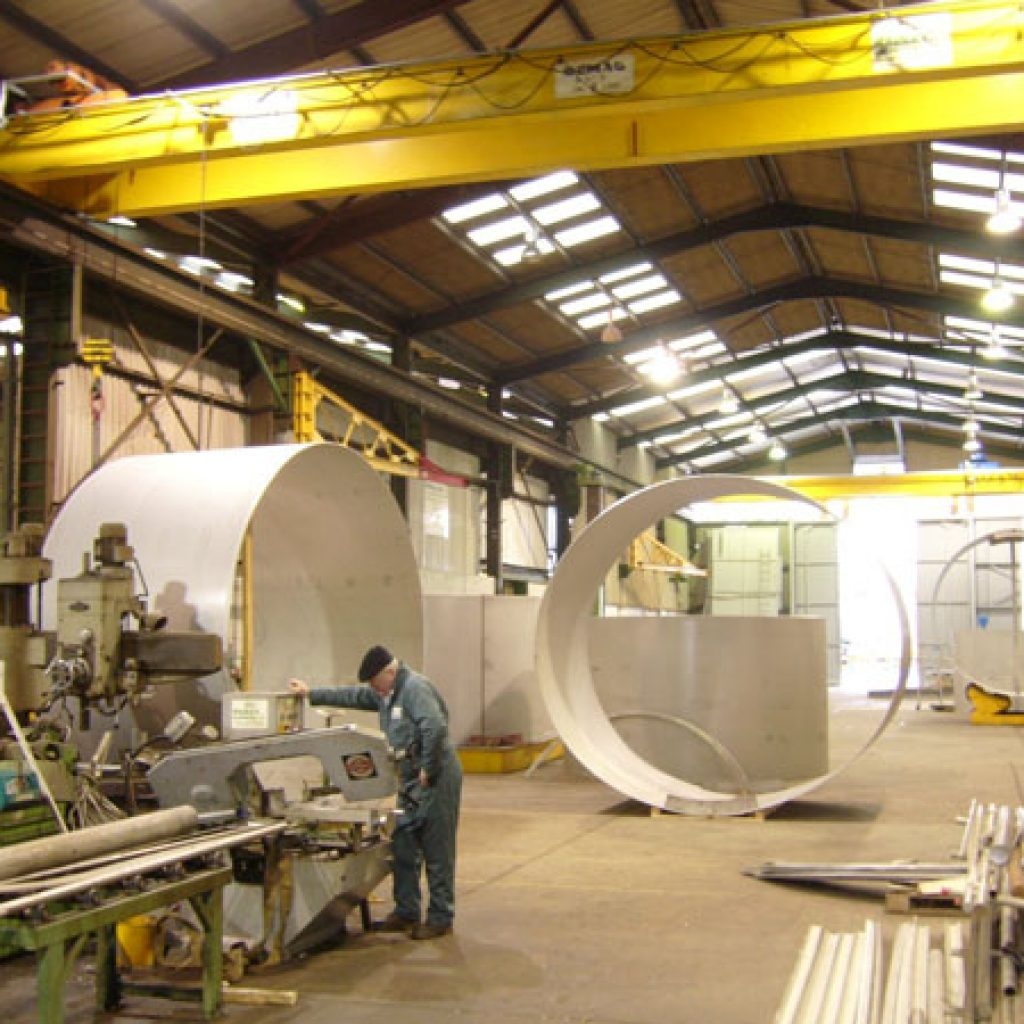 Factory expansion at Radley Engineering